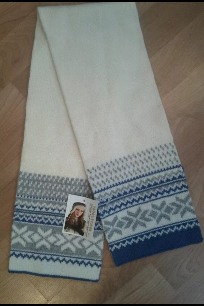 Reversable wool scarf by Norlender of Norway image 0