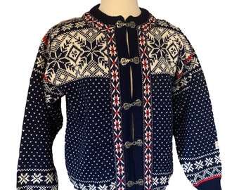 Dale of Norway, Norwegian wool sweater made in Norway-unisex size M