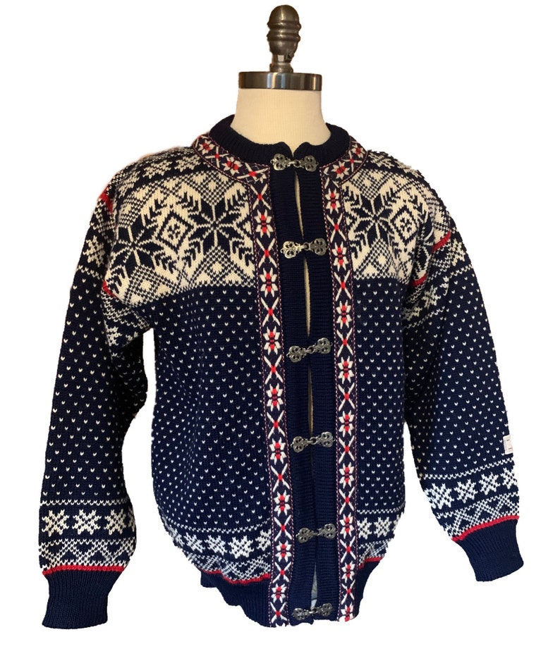 Dale of Norway Norwegian wool sweater made in Norway-unisex image 0