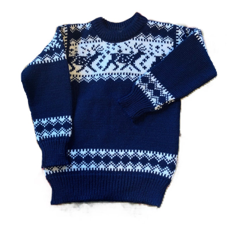 Dale of Norway children's sweater size 8 made in Norway image 0
