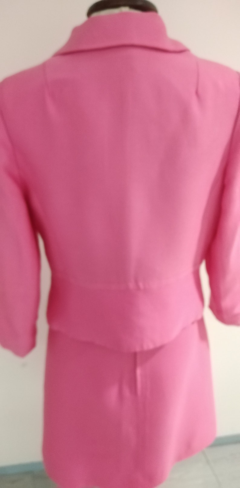 Vintage 60s Peter Barron Pink Dress and Jacket Suit