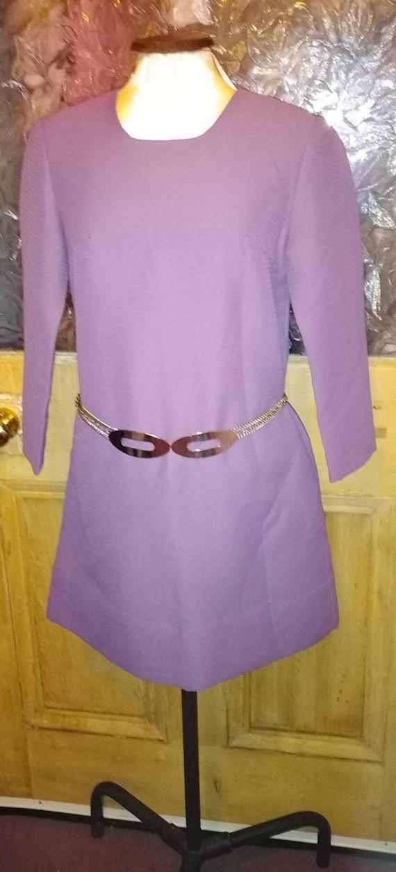 Vintage 60s Pierre Cardin Chrome Chain Belt
