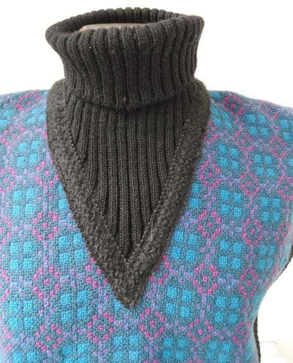 Vintage 60s Welsh Wool Tabard/Tunic