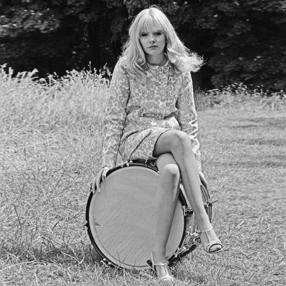 Vintage 60s Paisley Print Skirt Suit - image 6