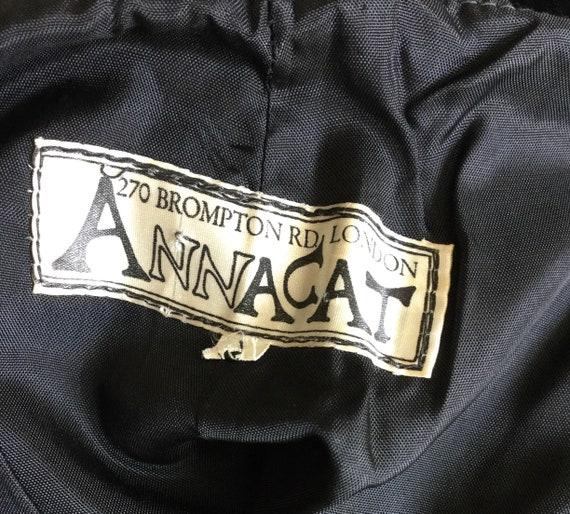 AttaCat 1970s black velvet trousers BIBA style