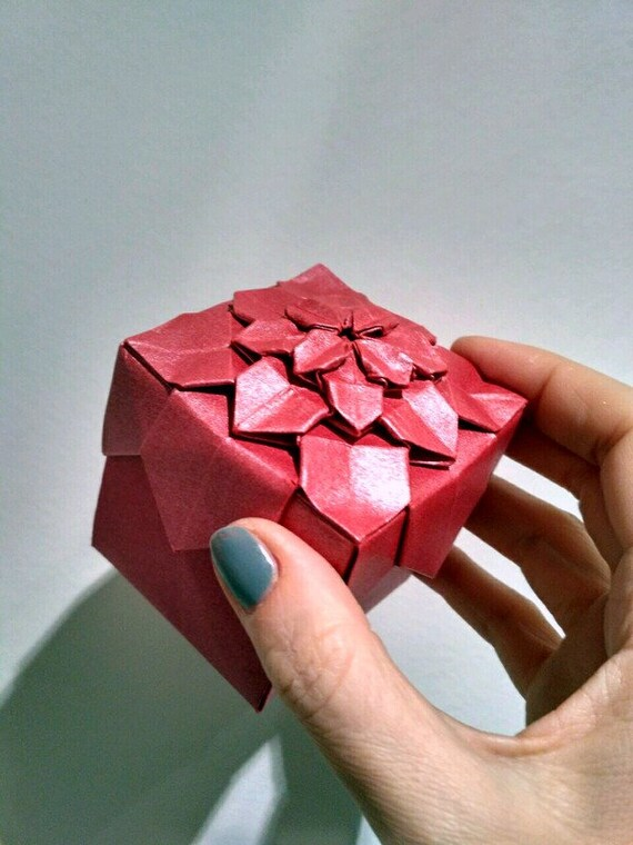 Origami Rose Box – Origami Tutorials | 760x570