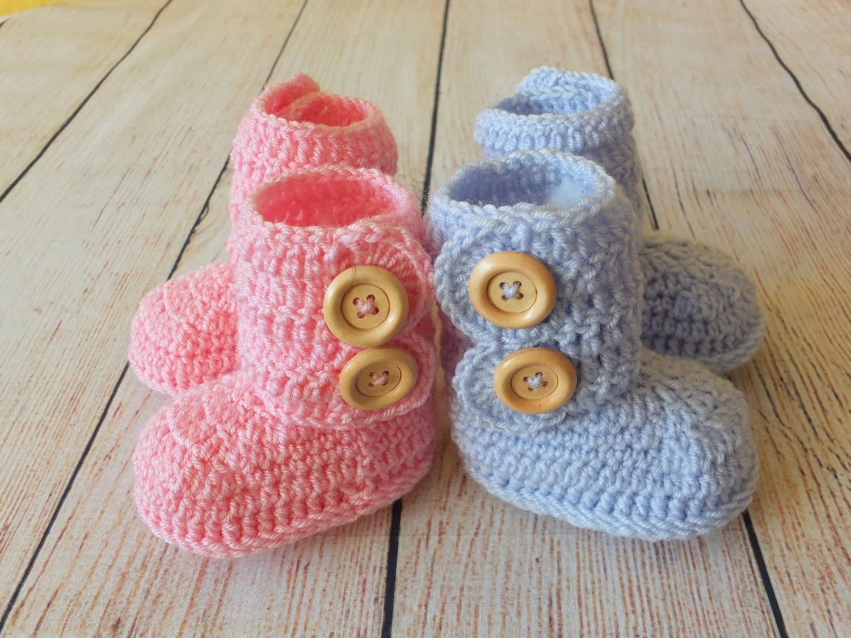 Zwilling-Babyschuhe Zwillinge-Baby-Geschenk Gehäkelte | Etsy