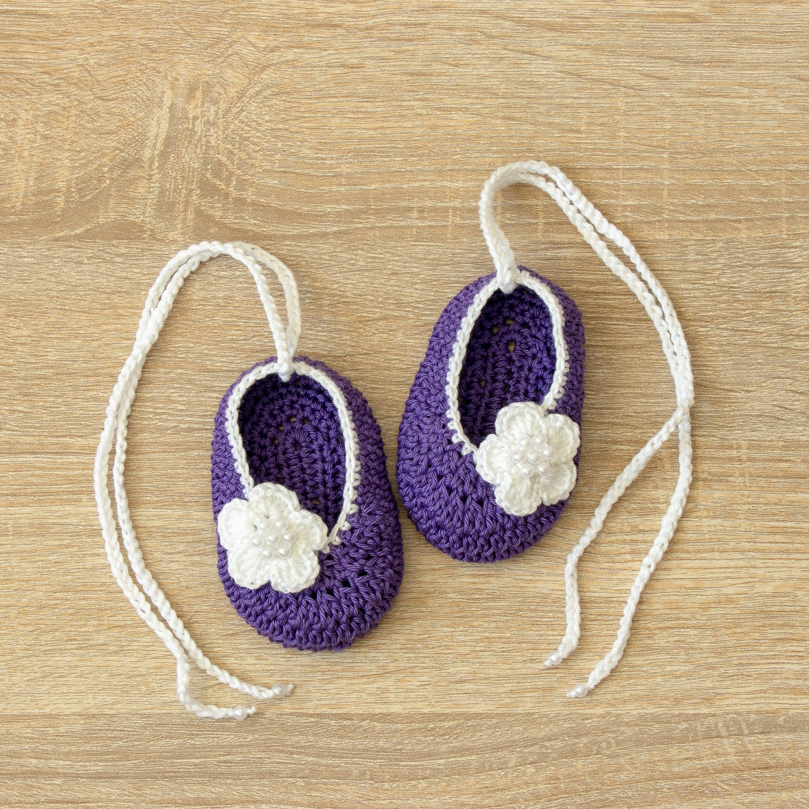 baby ballet shoes - baby girl shoes - baby mary janes - newborn girl shoes - crochet baby shoes - ballerina slippers - baby girl