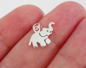 ElephantAfrican925 Sterling Silver PendantSilver Elephant PendantSilver African Elephant CharmBiker JewelryGothicMen/'sWomen/'s nd-040