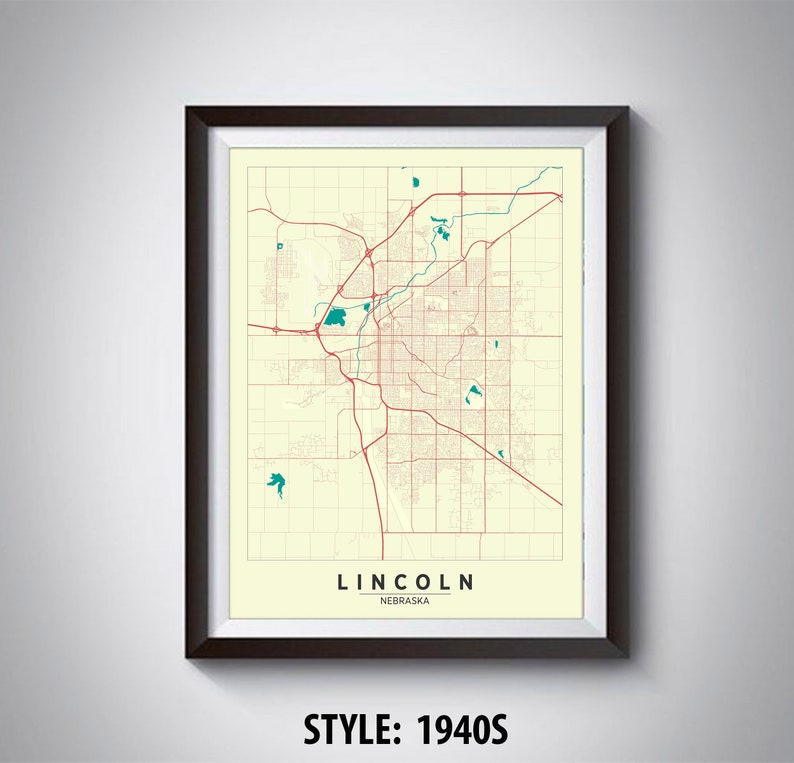 Map of Lincoln, NE - Lincoln Map - Lincoln Poster - Office Décor - Map Of Lincoln Ne on map of cedar rapids iowa area, city of crete ne, map of kansas city ks, street map fremont ne, uno campus map omaha ne, map of lake havasu city az, map of santa fe nm, map of nebraska, street map omaha ne, city of alliance ne, map of jean nv, map of subdivisions in omaha, map of salt lake city ut, map of oklahoma city restaurants, map of lake buena vista fl, map of mobile al, map lyons ne, streets of holstein ne, village of winnebago ne, map of king of prussia pa,