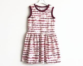 Tie dye girl's dress
