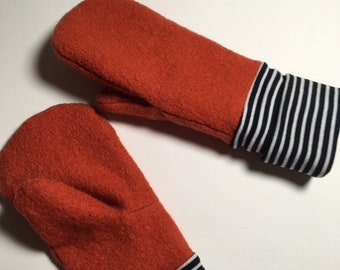 Gloves.  Mittens with cuffs. Warm mittens. Adult sizes, kids sizes. Pick your own fabrics