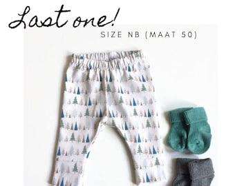 Baby leggings with trees. Size NB