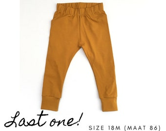 Baby harem pants. Size 18 - 24 months. Yellow pants