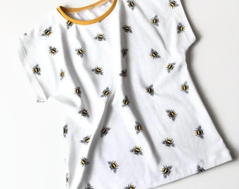 Baby or toddler shirt with bees