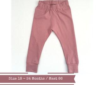 Baby harem pants. Size 18 - 24 months. Pink pants