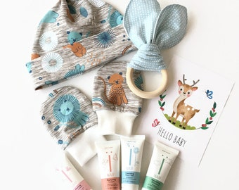New baby gift set. Welcome baby gift box. Baby Shower Gift, Baby Girl Gift, Baby Shower Present, Newborn Gift Box.