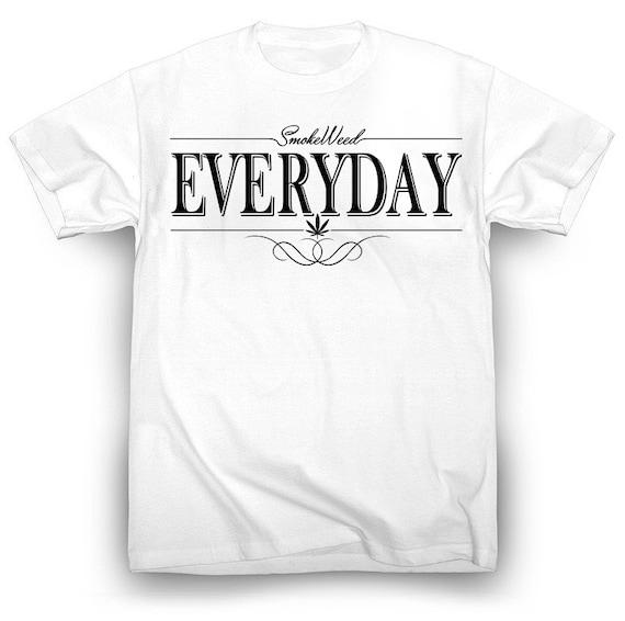 Nate Dogg Smoke Weed Everyday Shirt Tupac Dr. Dre Smoke 420 Marijuana Kush Chronic NWA Snoop Dogg Wiz Khalifa Eminem