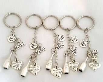 Keyring Teacher's Thank You Keychine Teacher's Key Ring