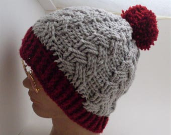 Cabled Beanie Hat