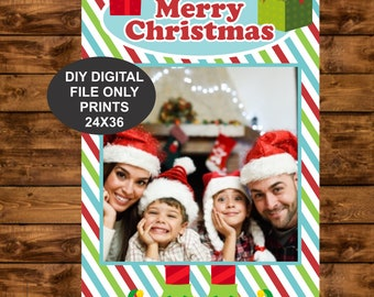 Christmas Photo Booth Frame Etsy