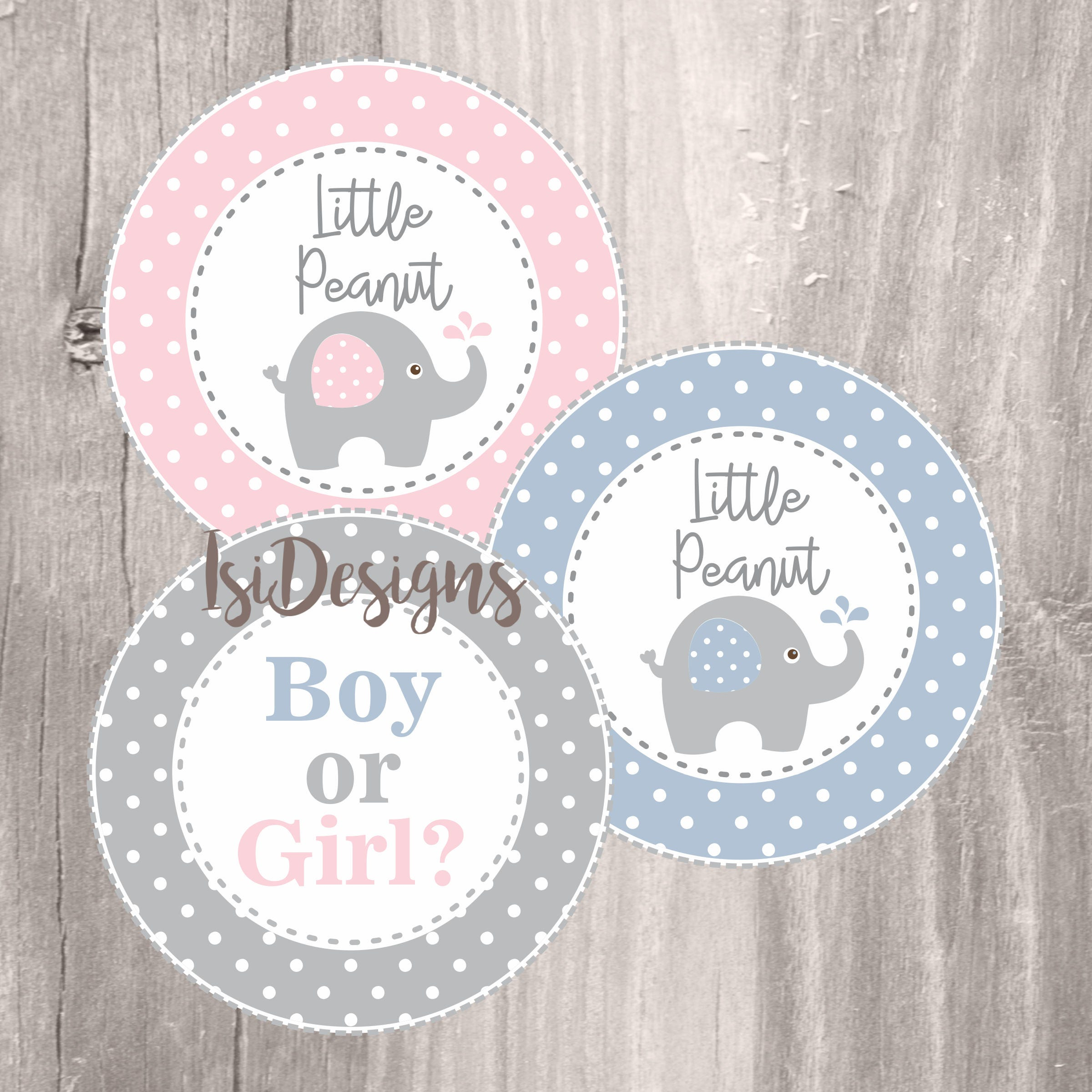 Gianna S Pink And Gray Elephant Nursery Reveal: Elephant Baby Shower Printable Centerpieces Gender Reveal