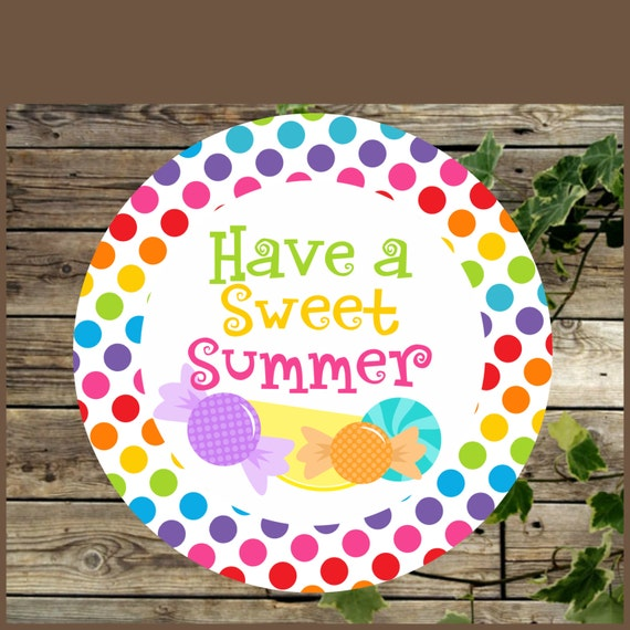 photograph relating to Have a Sweet Summer Printable titled Printable Like Tags, Conclude of Faculty Yr, Bash Choose Tags