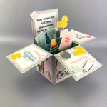 Custom One of a Kind Personalized Pop Up Card