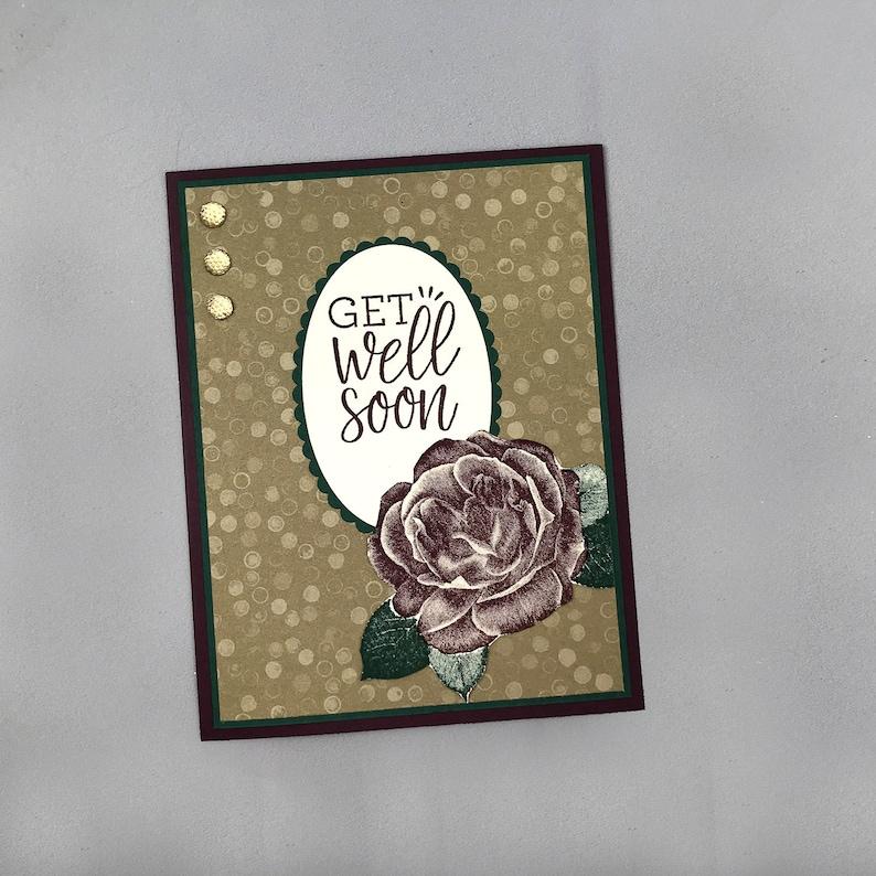 Handmade Get Well Card image 0