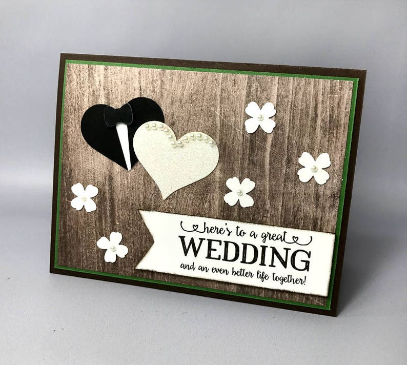 Rustic Country Wedding Card image 0