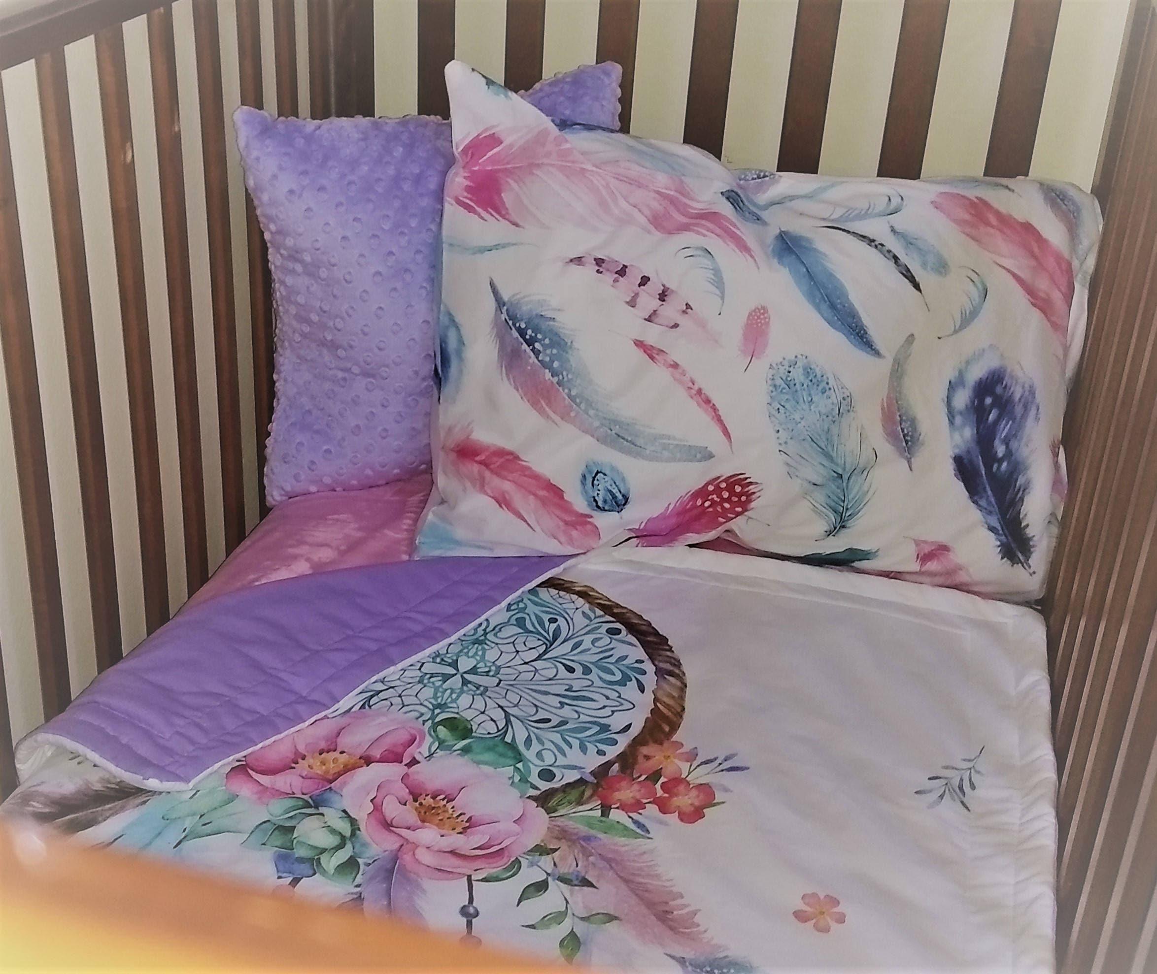 cribs taupe bedding sets baby comforter l for damask bedroom set and pink nursery crib girl