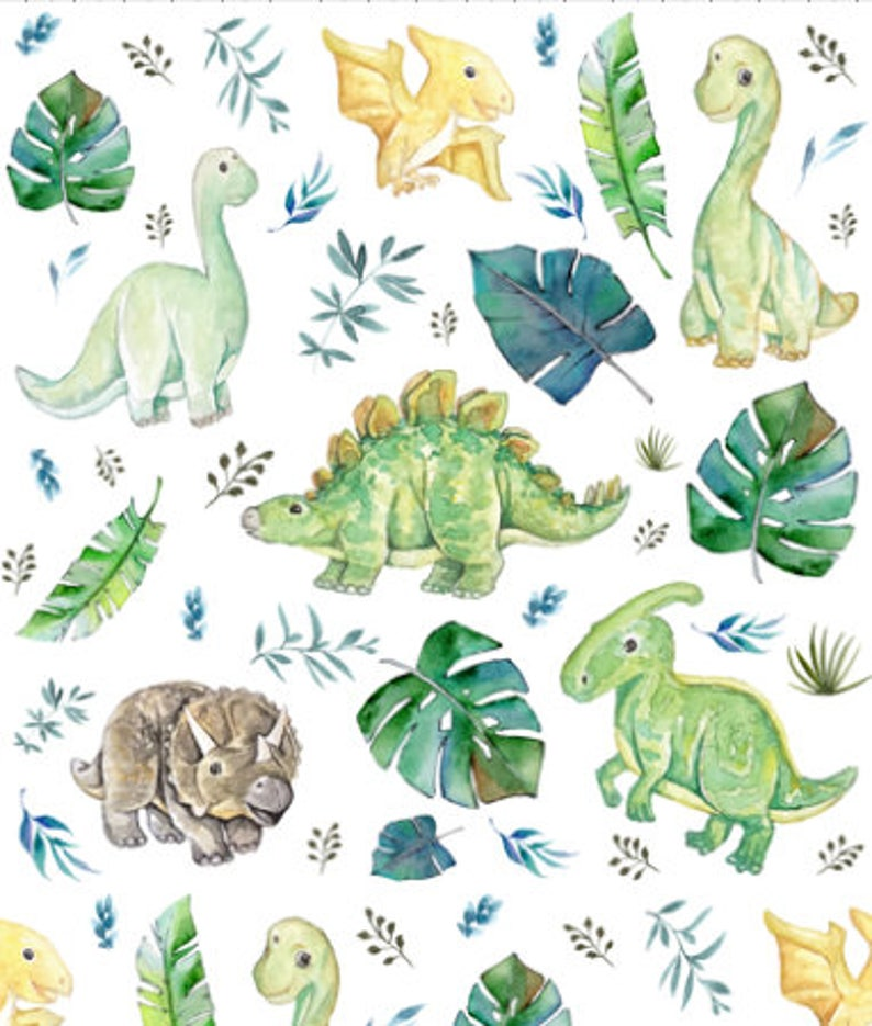 dinosaur baby comforter Dinosaur baby blanket This picture is the size of the blanket or comforter.