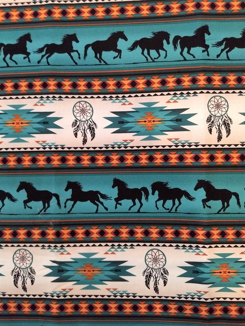 horse pony blanket Dreamcatcher blanket Western baby blanket western baby bedding Aztec bay blanket horse pony baby bedding