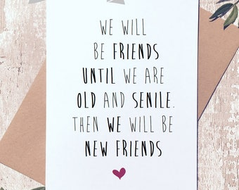 Funny friend card etsy bookmarktalkfo Choice Image