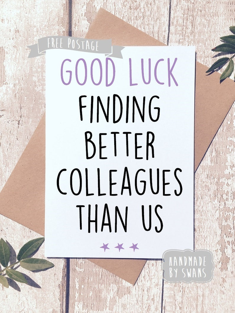 Class Of 2018 Personalised Card  School Leavers Goodbye Good Luck Card