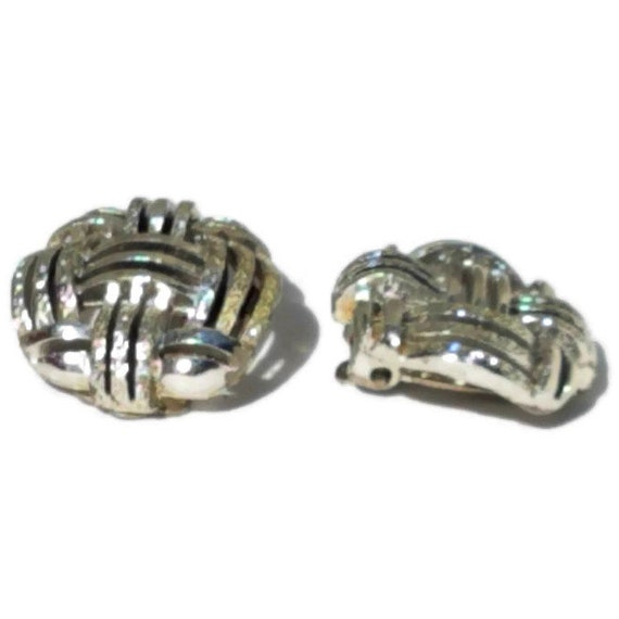 Clip On Earrings, Vintage Clip-on Earrings, State… - image 7