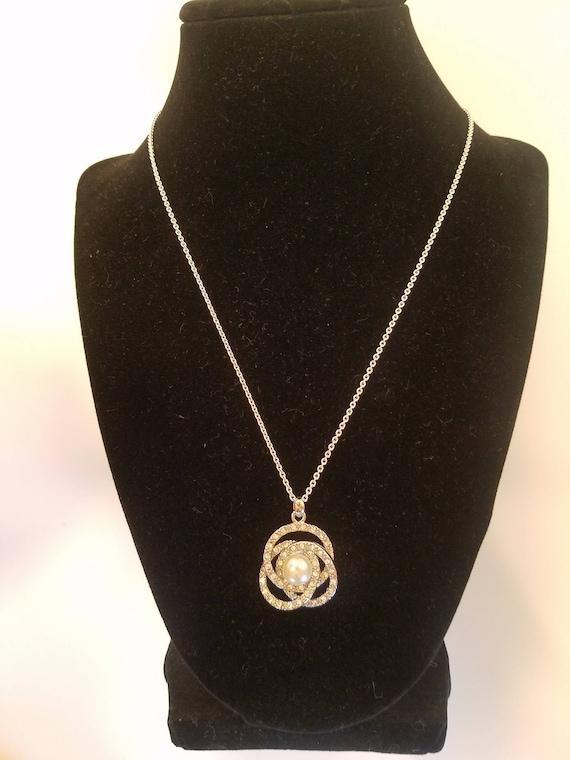Bridal Necklace, Vintage Jewelry, Wedding Necklac… - image 6