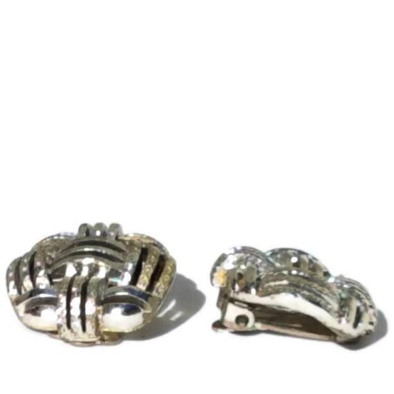 Clip On Earrings, Vintage Clip-on Earrings, State… - image 2