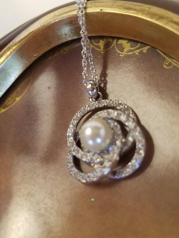 Bridal Necklace, Vintage Jewelry, Wedding Necklac… - image 9