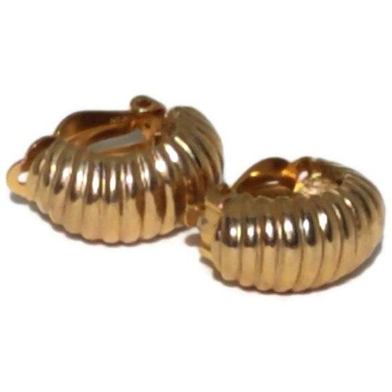 Clip On Earrings, Vintage Clip-on Earrings, State… - image 9