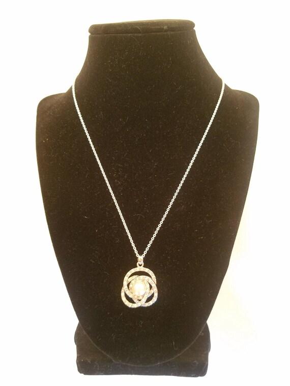 Bridal Necklace, Vintage Jewelry, Wedding Necklac… - image 7