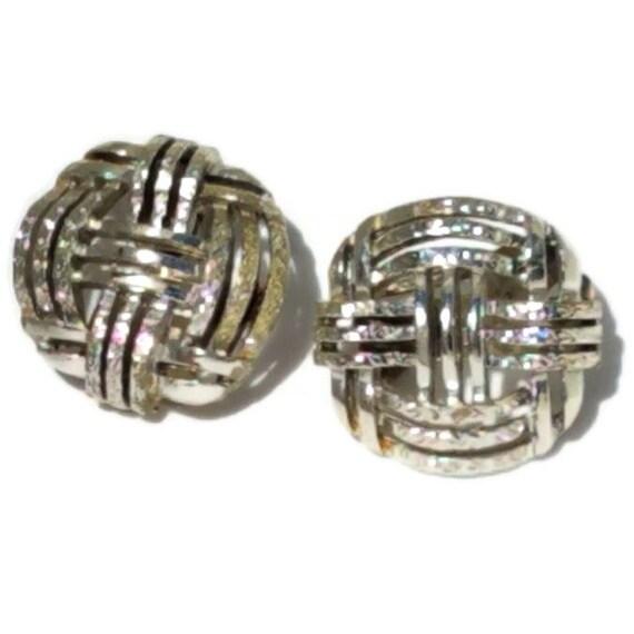 Clip On Earrings, Vintage Clip-on Earrings, State… - image 3