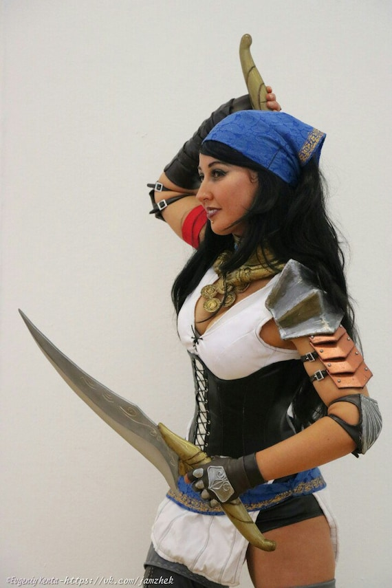 Dragon Age 2 Isabella Cosplay Weapon Dagger Handmade Adult Etsy