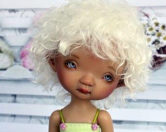 "PREORDER! Mohair Wig ""Dandelion"" for Irrealdoll specially / BJD Wig / Irrealdoll Wig / LittleFee Wig / 5,5 inch Wig"