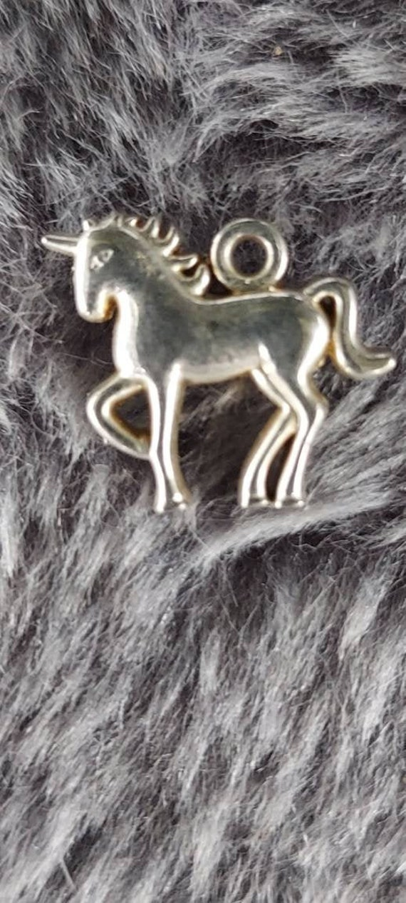 Unicorn pendant, unicorn pendant vintage collectib