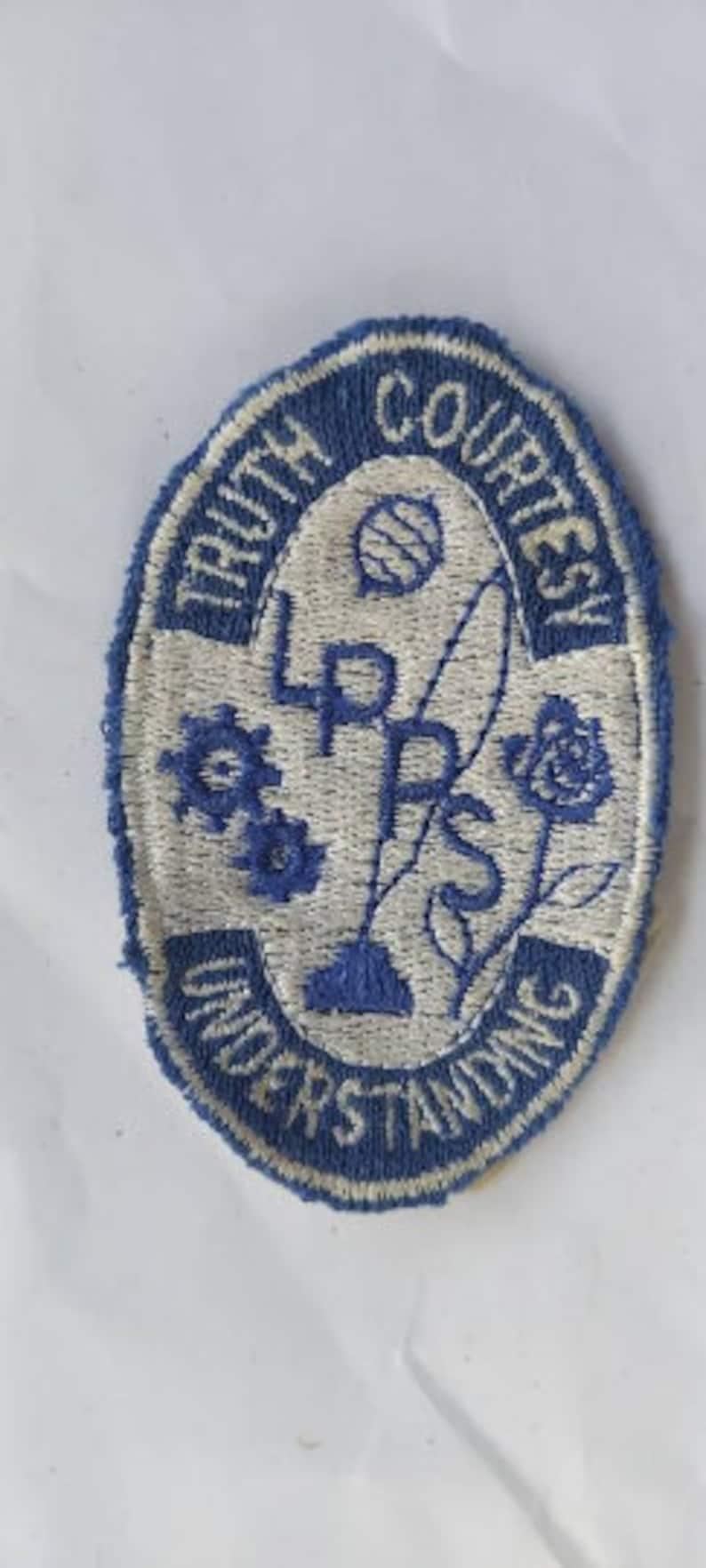 Truth Courtesy Understanding LPPS patch vintage LPPS patch, LPPS patch Truth Courtesy Understanding