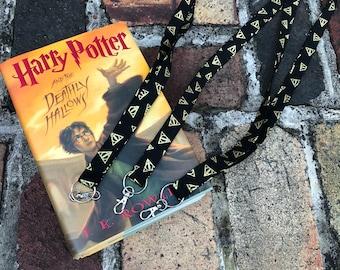 Harry Potter Deathly Hallows Lanyard