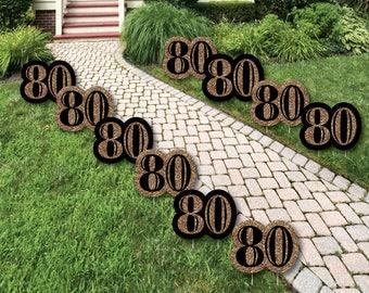 80th Birthday Decor