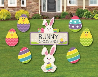 Outdoor Easter Decor Etsy