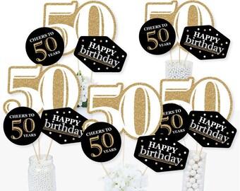 50th Birthday Decor